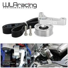 WLR تعديل EP3 بكرة عدة لهوندا 8th 9th سيفيك جميع K20 و K24 محركات مع السيارات الموتر إبقاء أ/ج تثبيت WLR CPY01