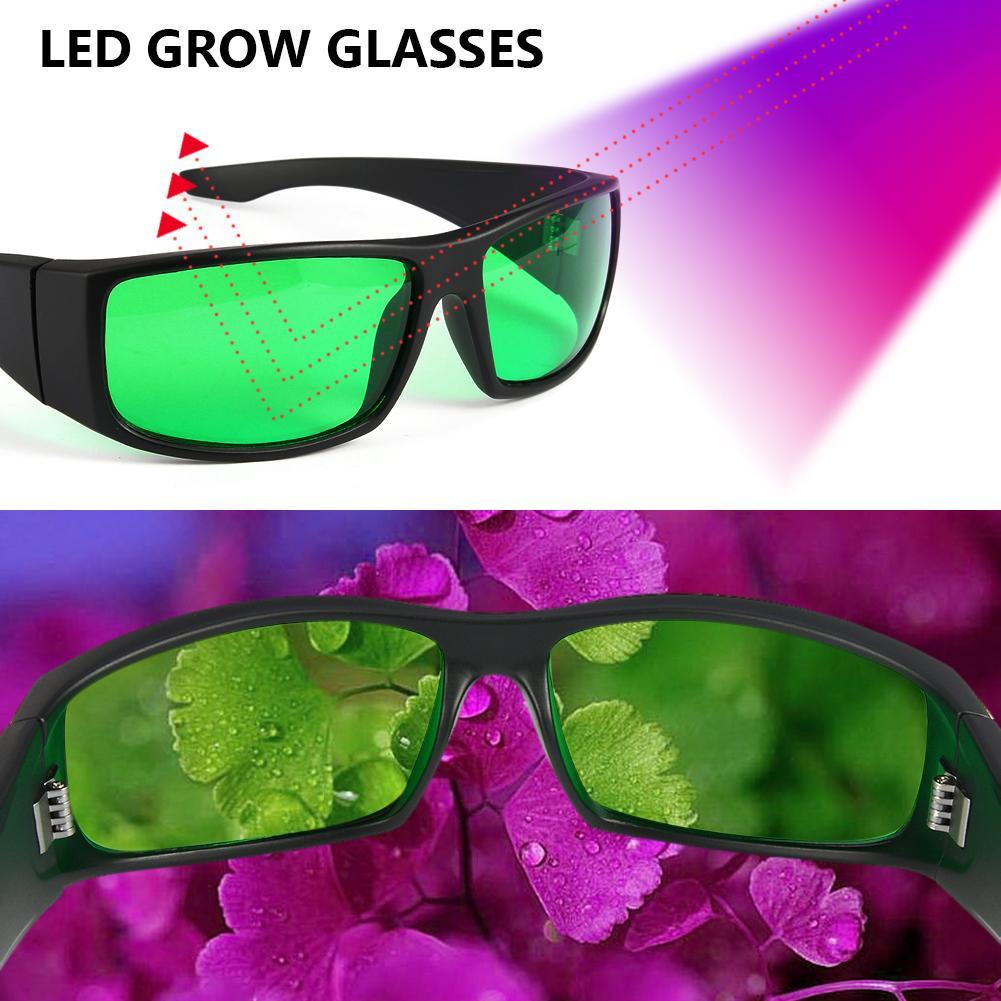 LED Grow Light Glasses For Indoor Room Greenhouse Tent Hydroponics System