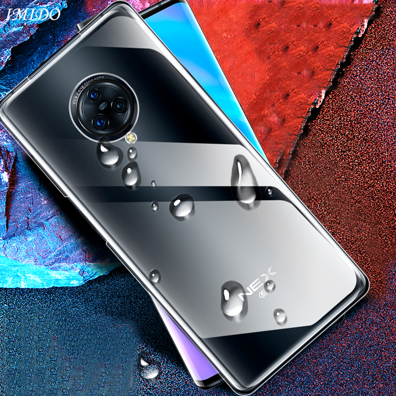 Luxury <font><b>Case</b></font> for <font><b>VIVO</b></font> Nex 3 Y17 <font><b>Y3</b></font> Y15 V17 Pro TPU Soft Silicone <font><b>Case</b></font> for <font><b>VIVO</b></font> Nex 3 5G Y17 <font><b>Y3</b></font> Y15 V17 Pro Back Transparent Cover image