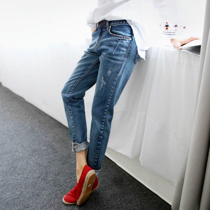 New Fashion Autumn Style Women Jeans Elastic Harem Denim Pants Jeans Slim Vintage Boyfriend Jeans for Women Female Trousers