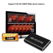 Hdmi a USB 3.0 scheda di Acquisizione di tipo c usb c di Acquisizione Video signalcompatible con Finestre, Linux, mac OS X e interfaccia USB 3.0