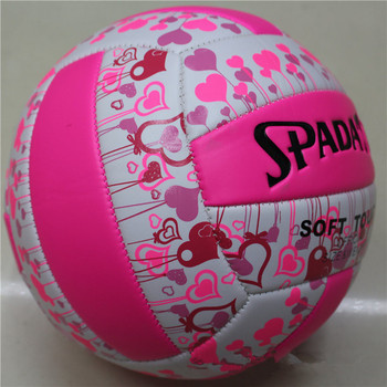PU Leather Volleyball Ball Official Size 5 pink Beach Volleyball Ball Summer Beach Training Handball Volley Ball free shipping official size 5 pu volleyball high quality match volleyball indoor