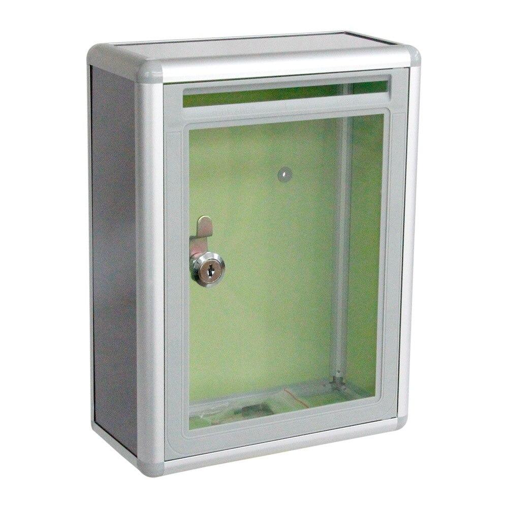 Прозрачная маленькая коробка настенный замок HKEJ xin jian xiang удобный для людей акриловый алюминий сплав многоцелевой Qua