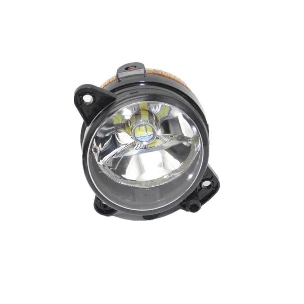 2 adet LED Araba Işık Skoda Fabia Için Mk1 2005 2006 2007 2008 Araba araba-styling Ön LED Sis Lambası sis Lambası Ampuller