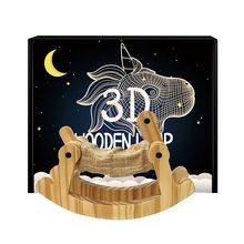 3D Wooden Animal Dog Lamp LED Table Light USB Power Cartoon Nightlight Desk Room Bedside Lamp for Home Kids Bedroom Decorations