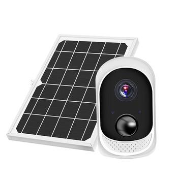 Security Surveillance CCTV Camera 2MP Solar Camera Power Outdoor Waterproof Wifi IP Camera Night Vision Video Recorder 32G Card 1