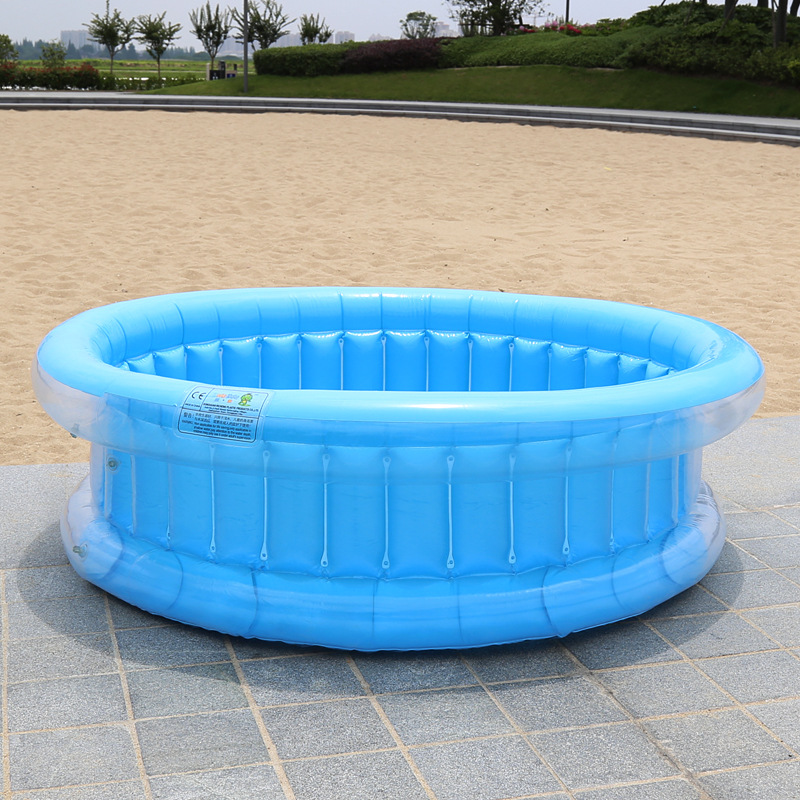 130cm Tricyclic Children Inflatable Pool Baby Swimming Pool Water Fishing Ocean Ball Pool Swimming Pool Inflatable Bath Tub Kids