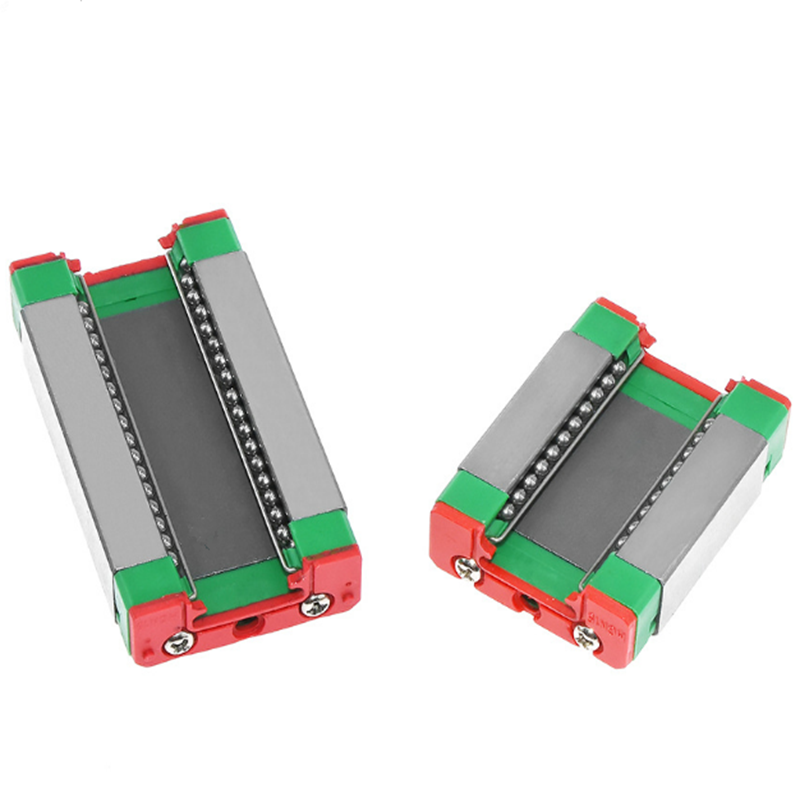 Free Shipping 10pcs/20pcs Micro Carriage MGN 7/9/12/15 C/H Series High Quality With Low Price Hiwin Size Block Guide Rail Parts