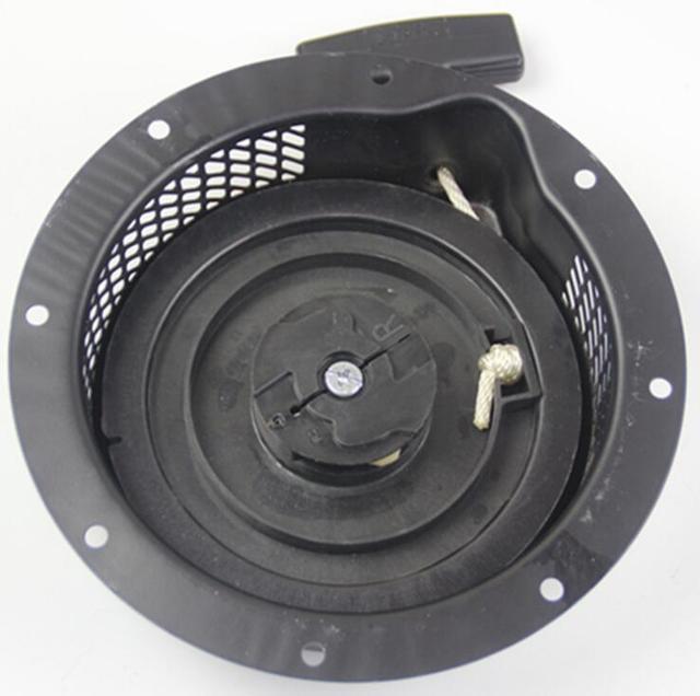 EX40 RECOIL תנע הרכבה פלסטיק RATCHET עבור רובין סובארו EX 40 EX35 404CC 14HP 4 שבץ מתכת למשוך להתחיל גריפ חבל ידית