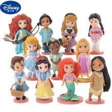 10pcs Disney Princess Figures Cinderella Belle Ariel Sofia S