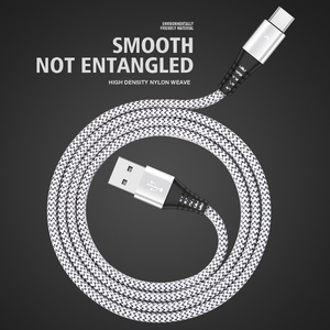 Image 5 - HANNORD USB Type C Cable USB C Cable Fast Charging Data Sync 2.4A LED Indicator 1.2/1.8M for Mobile Phone