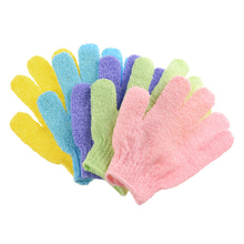 8pc/set Bath Glove Exfoliating Wash Skin Spa Massage Body Sc