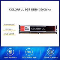 Яркая оперативная Память DDR4 8 Гб 16 Гб RAM 2666 МГц/3000 МГц/3200 мгц PC DIMM настольная память поддержка материнской платы ddr4 Высокая совместимость