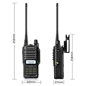 Image 5 - Baofeng UV XR uv 9r uv9r plus waterproof  Walkie Talkie 10W Powerful CB radio portable Handheld 10KM Long Range Two Way Radio