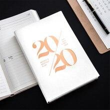 Agendas 2020 Planner Organizer Notebook and Journals A5 Monthly Weekly Note Book Personal Plan Schedule Office School Handbook