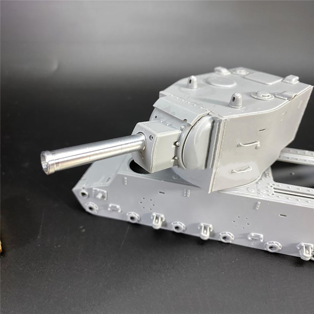 Metal Barrel Tank Upgrade Part for 1/35 Scale KV-2 Tank <font><b>Trumpeter</b></font> 00312 Model Accessories Parts image