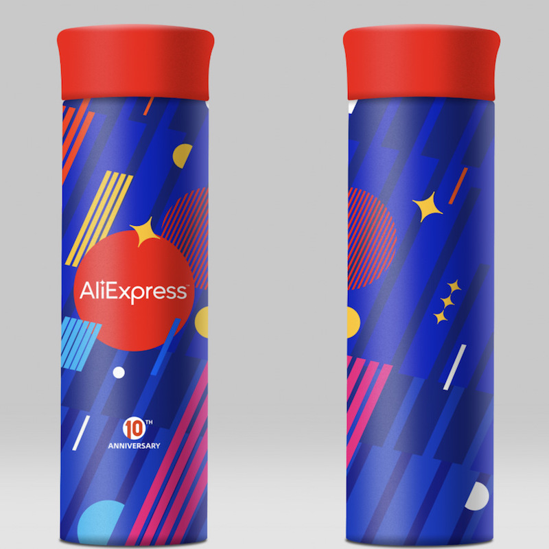 AliExpress 10th Anniversary Item -- Stainless Steel Leakproof Thermos, Thermos Cup, Leakproof Iron, Light Portable Thermos