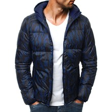 Mens Cotton-padded Hooded Clothes for Men Winter Jackets and Coats  Bubble Coat