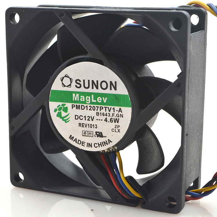 FOR Sanyo 9ah0912 p4h041 9025 12v 0.17a9cm PWM speed-controlled mute chassis fan