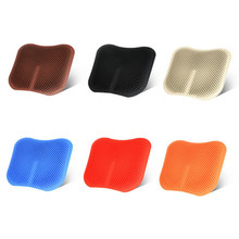 3D Breathable Cool Silicone Seat Cushion Non-slip Chair Sofa Pad Mat Fishing Picnic Home Office Car Covers
