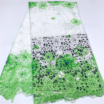 high quality african cord lace fabric, chemical lace water soluble guipure lace fabric sky blue african lace fabric fashion
