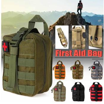 First Aid Pouch Patch Bag Molle Hook and Loop Amphibious Tactical Medical kit EMT Emergency EDC Rip-Away Survival my days tactical ifak first aid bag molle emt rip away medical military utility pouch rescue package for travel hunting hiking