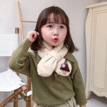 Mcmo высокого качества детский зимний шарф в Корейском стиле;