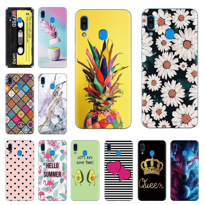 Case For Samsung Galaxy A20 Case Cover Silicone Coque Bumper For Samsung A20 A 20 2019 A205F A205 SM-A205F Etui Soft Fundas