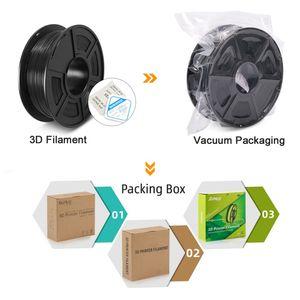 Image 5 - PETG Filament 1kg 1.75mm Tolerance 0.02mm FDM 3D Printer Material with Spool High Strength Non toxic 100% No Bubble Filaments