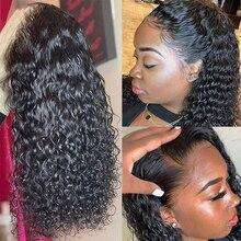 Brazilian Deep Wave Lace front Human Hair Wigs