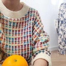 słodkie żółty jesień sweter