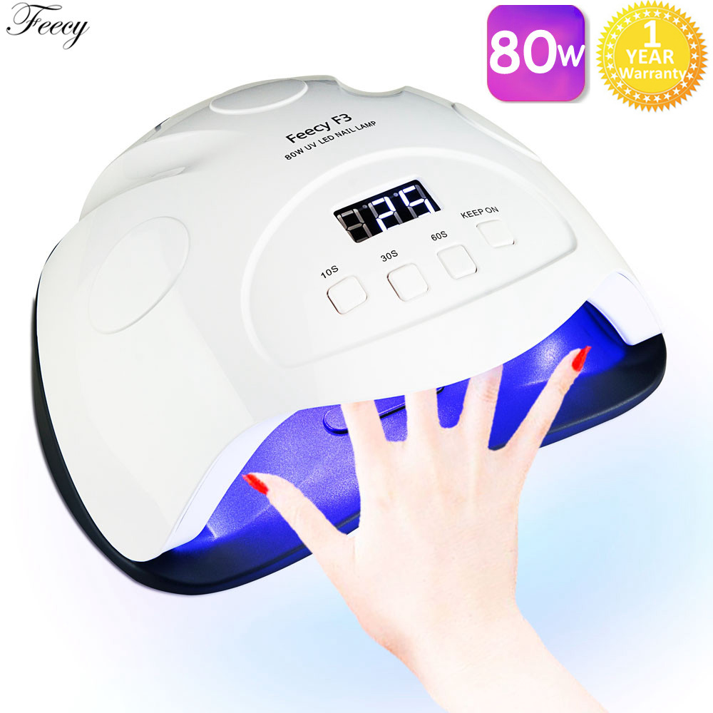 <font><b>Lamp</b></font> for Manicure <font><b>UV</b></font> <font><b>LED</b></font> Nail <font><b>Lamp</b></font> <font><b>80W</b></font> Nail Dryer <font><b>Lamp</b></font> for Gel Varnish 42 <font><b>LEDS</b></font> Lampe <font><b>UV</b></font> <font><b>Lamp</b></font> Drying All for Nails Nailmaster image