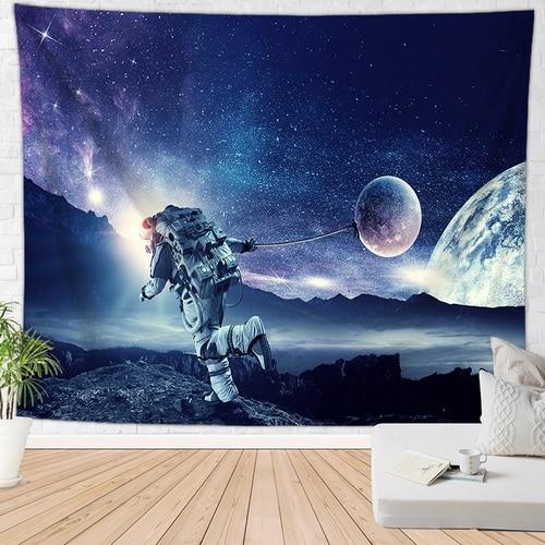 Луна пещера гобелен пространство ковер на стену хиппи гобелен большой tapijt muur домашний декор - Цвет: 1809