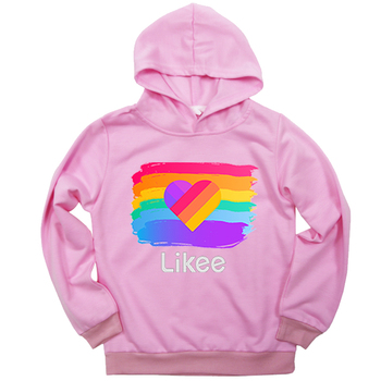 Likee Clothing Sweatshirts Hoodies For Kids Boys Girls Beautiful Hoodies Birthday Gift Fashion Likee Live Style