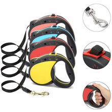 Dog Leash 3M 5M Retractable Puppy Walking Extending Leads Large Medium Automatic Lead For Pet Easy Gripping
