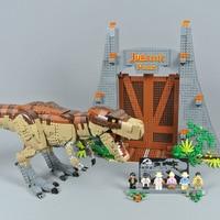 New Dinosaur Park Rex Rampage Lepinblocks 61001 Compatible 75936 Building Blocks Bricks Educational Toys Gifts lepinbricks
