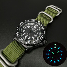 2020 The New Men's Quartz Watch Leisure Outdoor Sports Luminous Watch Multi-functional NATO nylon Waterproof Men Military Watch