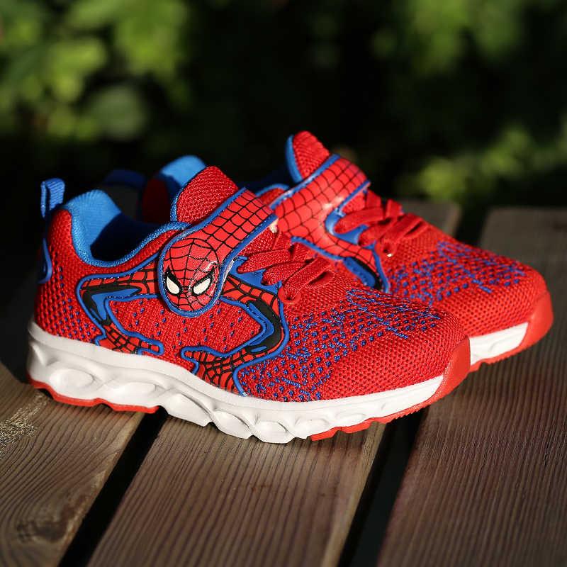 2020 di Autunno di estate Scarpe Per Bambini Per Bambini scarpe Da Ginnastica Bambini Spiderman Scuola di Sport Scarpe Da Bambino Ragazzo Traspirante Casual Scarpe Per Bambini 601