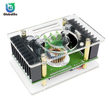 LCD Display Step-down Power Module with Case DC 10V-32V 16A to DC 10V-60V 8A 150KHz DC-DC Step Down Buck Converter Power