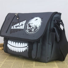 Anime Tokyo Ghoul Satchel Shoulder Bag kaneki ken Messenger Bag Student Crossbody School Bags for Men Boys Halloween Gifts(China)
