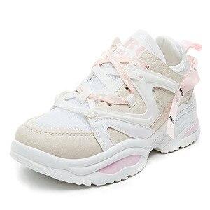 Image 3 - Chun Bụng Sneakers Nữ Vulcanize Giày Đế Phẳng Giày Thể Thao Với Các Nền Tảng Giày Nữ Giày Nữ Giày Thể Thao Tenis Feminino