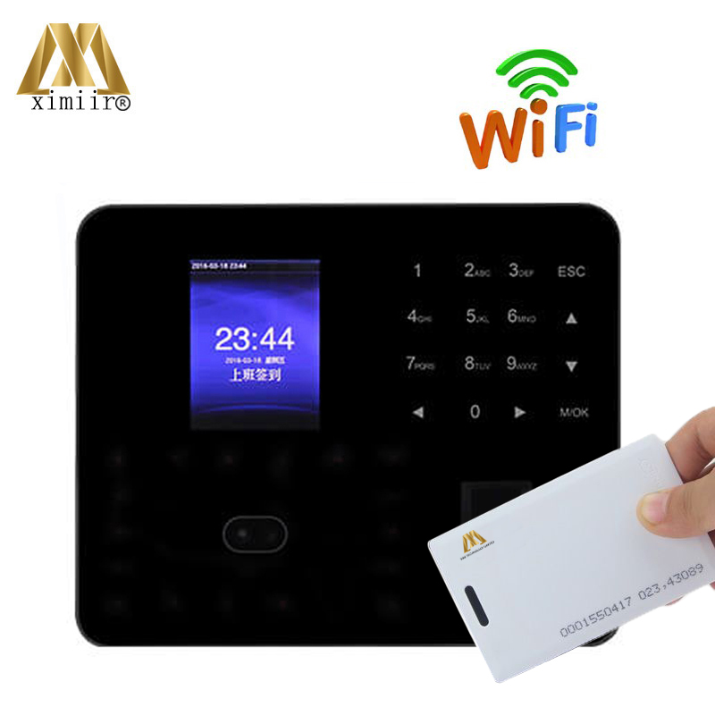 ZK Biometric Face And Fingeprint Time Attendance P2P Cloud Access Control ZK PF1000 Time Clock With RFID Card Reader And WIFI