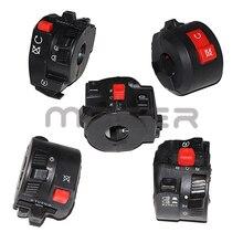 Switches Controller-Switch Motorbike Electric Light-Start Horn Handlebar 22mm Fog-Lamp