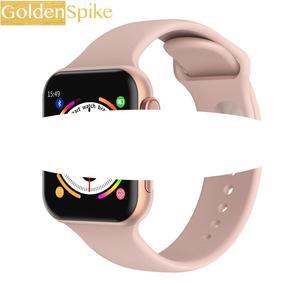 "Bluetooth Smart Watch Male 1.54 ""Screen Blood Pressure Monitor Heart Rate Waterproof Sport Smartwatch Female PK W34 Iwo 10 12(China)"