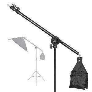 Image 4 - Rotatable Aluminum Adjustable Tripod Boom With 2m Light Stand Sandbag for Studio Photography Video