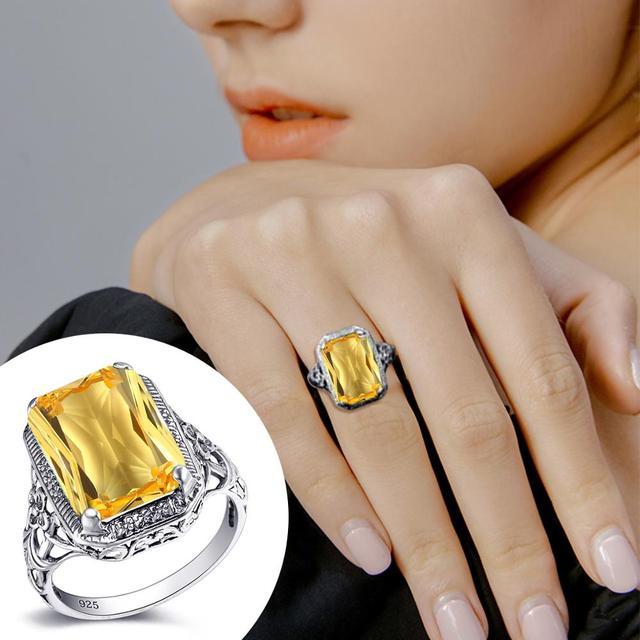 Фото кольца для женщин серебряные вечерние обручальное кольцо изысканной цена