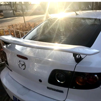 New design high quality Racing Wing Aluminum metal Bracket Stand Spoiler for 2006 to 2013 mazda RX 8 by primer paint spoilers