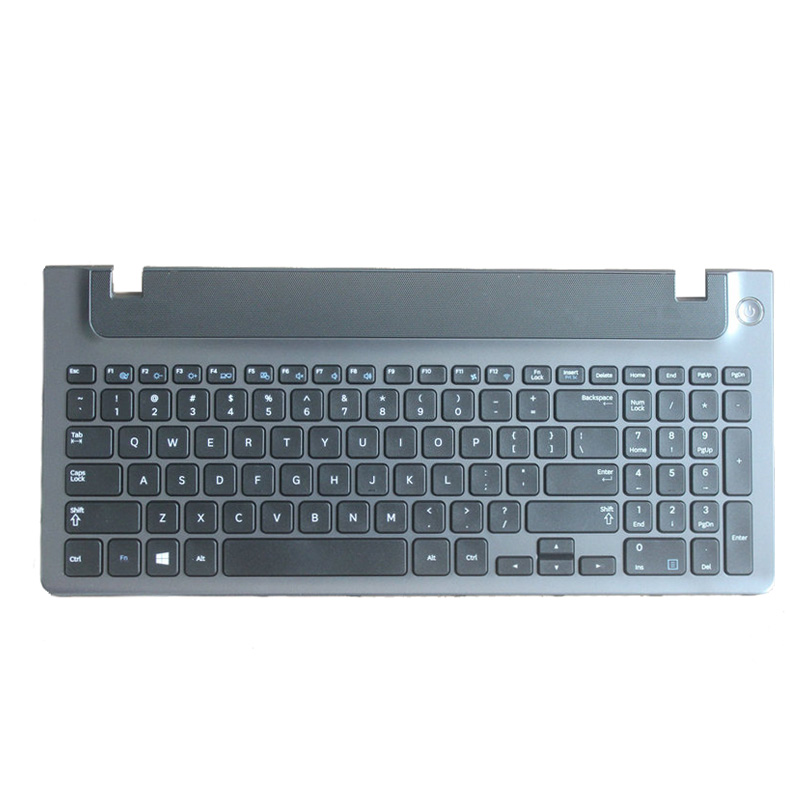 English New Laptop Keyboard With Frame For Samsung NP 355E5C NP355V5C NP300E5E NP350E5C NP350V5C BA59-03270A US Layout