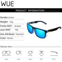 WUE 2021 Polarized Sunglasses Men Driving Shades Male Sun Glasses For Men Retro Cheap Luxury Brand Designer Gafas De Sol