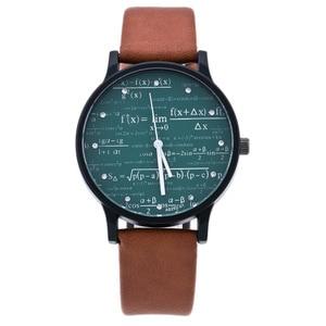 Creative Mens Watch Leather Qu